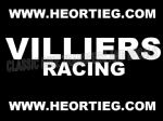 Villiers Racing Tank and Fairing Transfer Decal Sticker DVILL9 WHITE